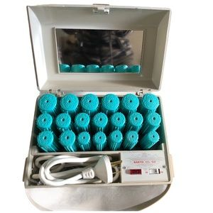 Sanyo Electric Hair Curler Hot Rollers